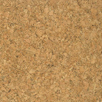 Grain cork wall tile